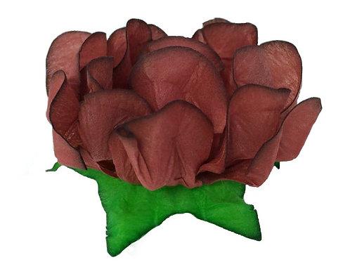 Danielle Copper Fabric Flower Shell