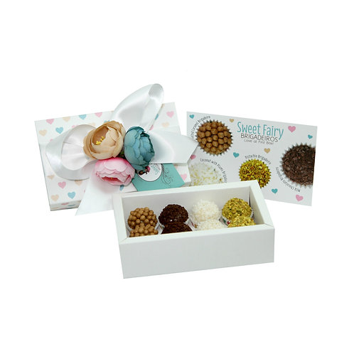 Brigadeiro Box Assortment Flavors- 8 Pieces