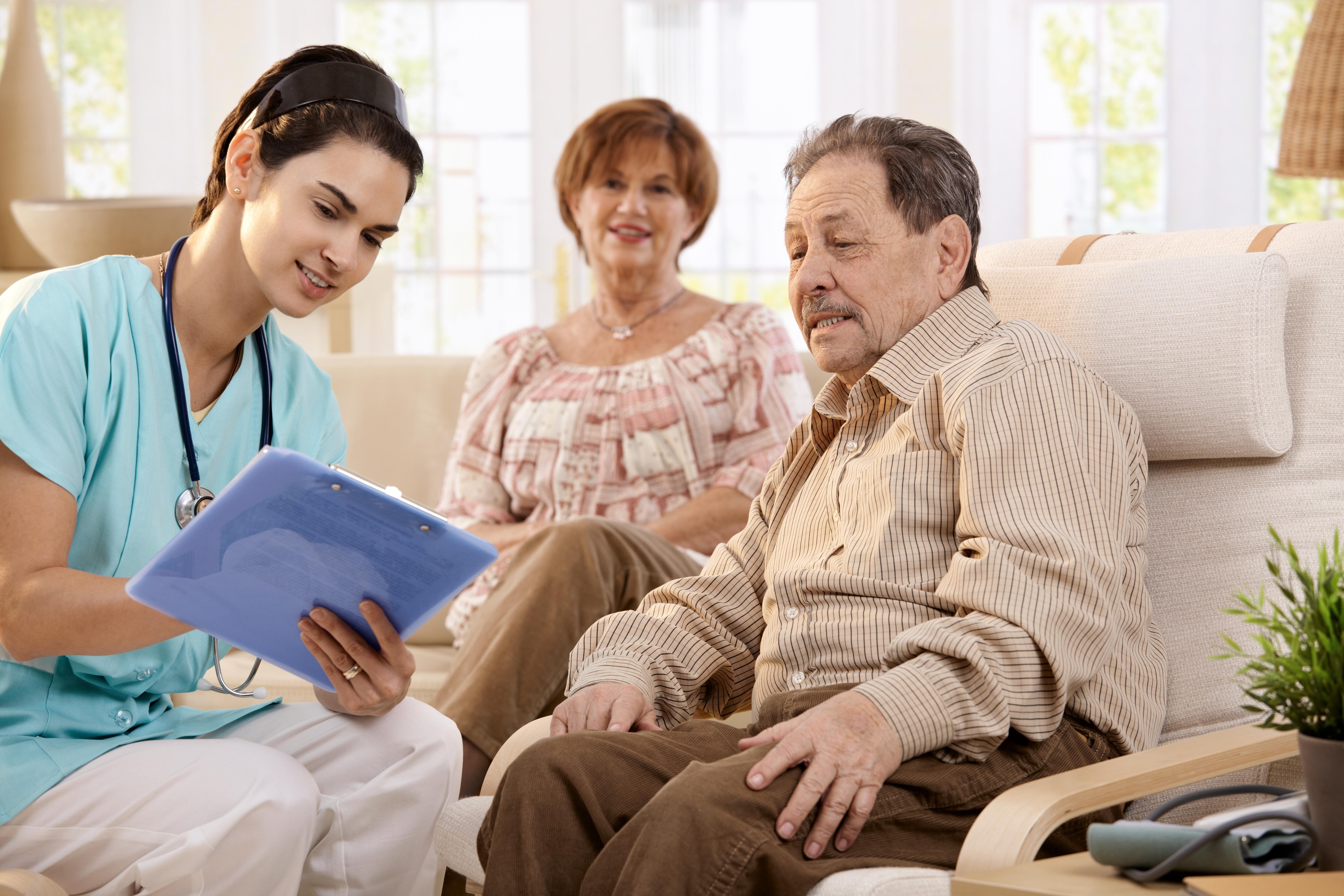 Care plan and caregiver stress