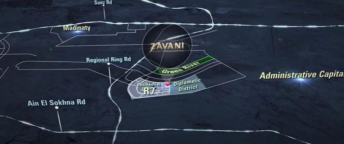 Zavani New Capital Location