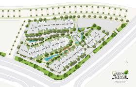 Green Avenue New Capital Layout