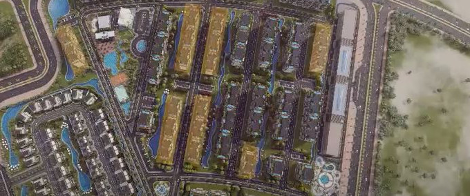 The City Valley New Capital Layout