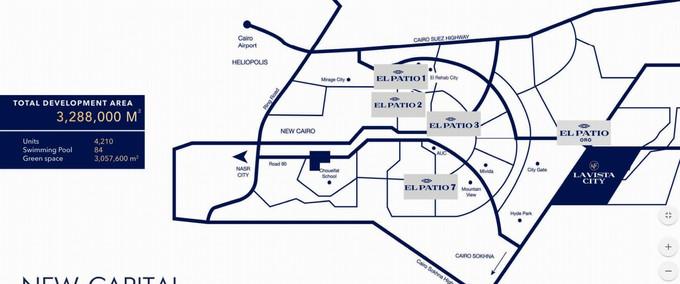 La Vista City New Capital Layout