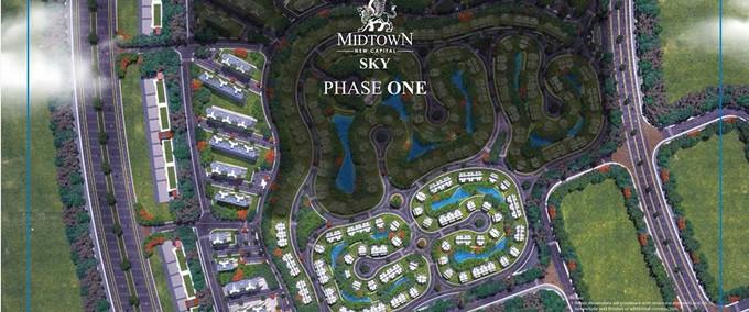 Midtown Sky New Capital Layout