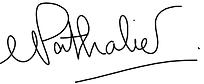 Signature Nathalie