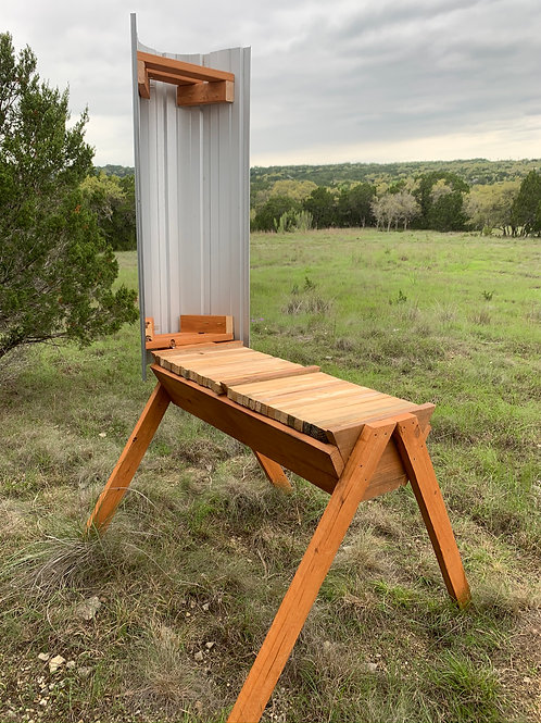 2-in-1 Double LES CROWDER Top-Bar Hive - DELUXE