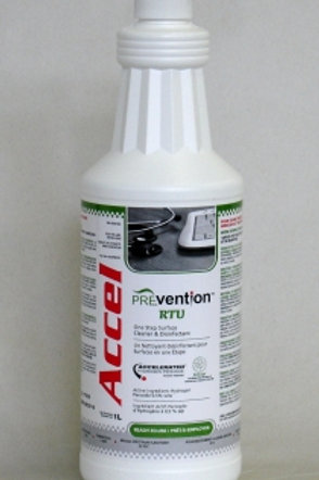 Accel PREvention 3-min One-Step Disinfectant RTU (1 L)