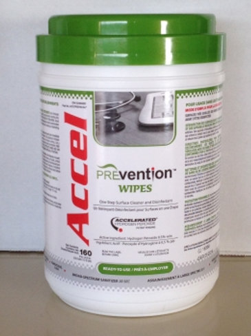 Accel PREVentionTM/MC Wipes