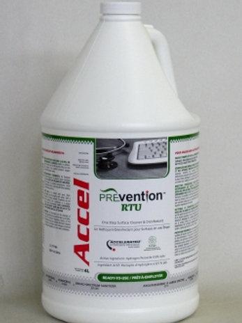 Accel PREvention 3-min One-Step Disinfectan RTU (4 L)