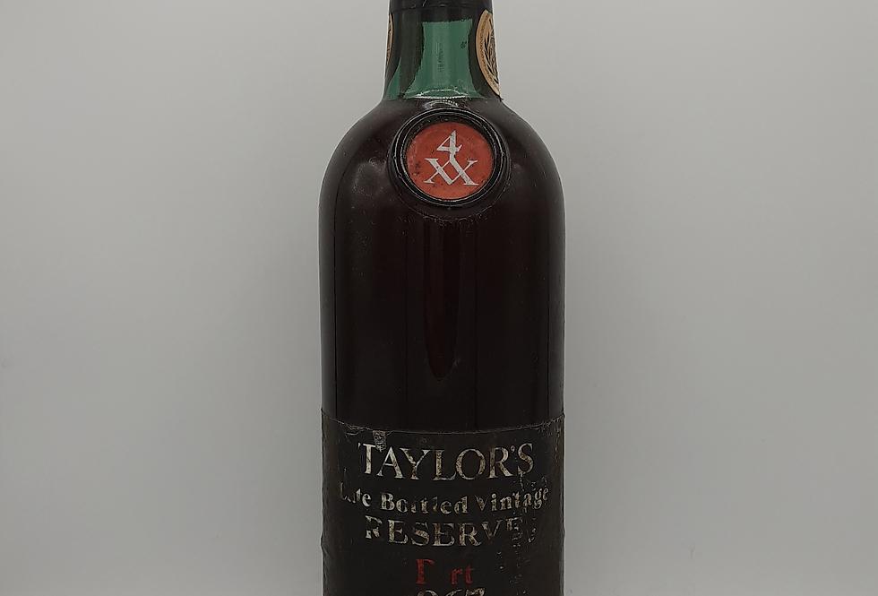 Taylors 1967 LBV Port