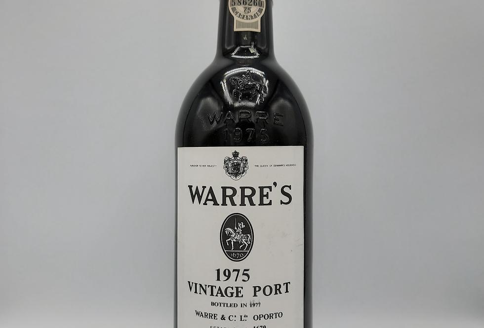 Warres 1975 Vintage Port