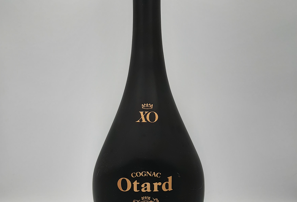 Otard XO Cognac   black decanter Boxed