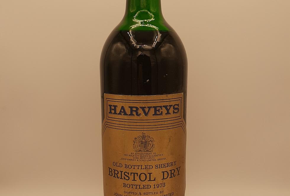 Harveys Bristol Dry Sherry 1973 Bottled