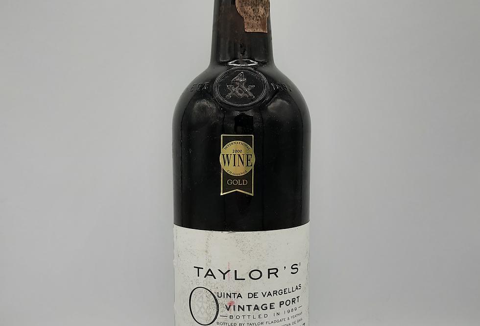 Taylors 1987 Vargellas Vintage port