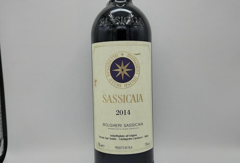 2014 Sassicaia Bolgheri, Tuscany Italy