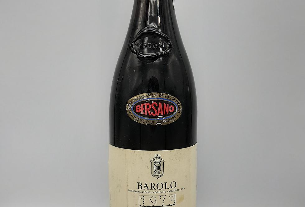 1973 Bersano Barolo