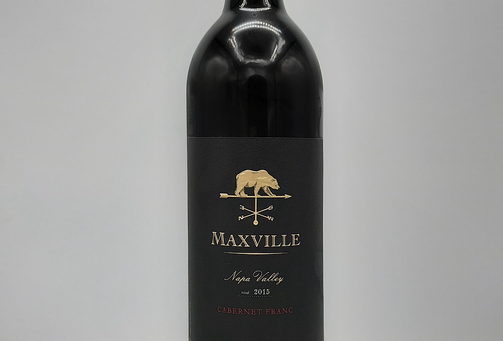 2015  Cabernet Franc, Maxville Napa Valley