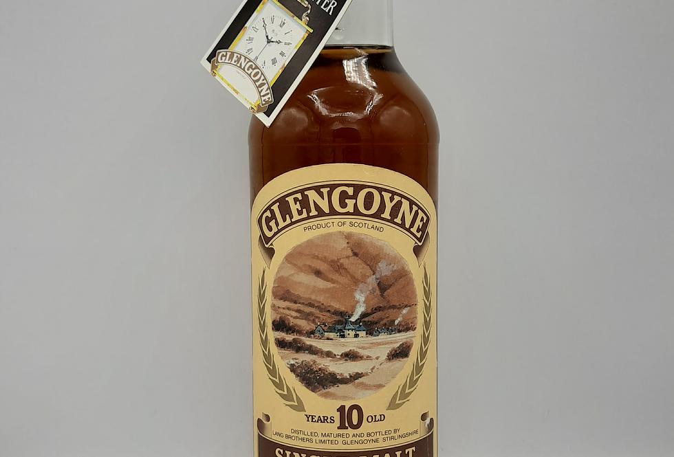 1980's Glengoyne 10 yr Single Malt Scotch Original Tube 1980's