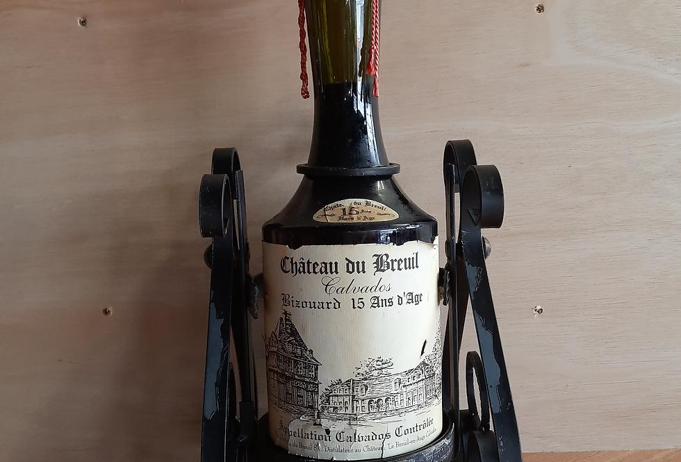 Chateau De Breuil  15 Year Old Calvados 2 Litre Bottle in Cradle