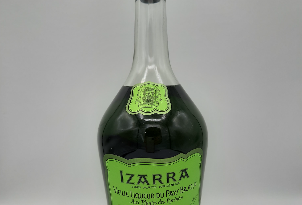Izarra Verte Liqueur 1980's