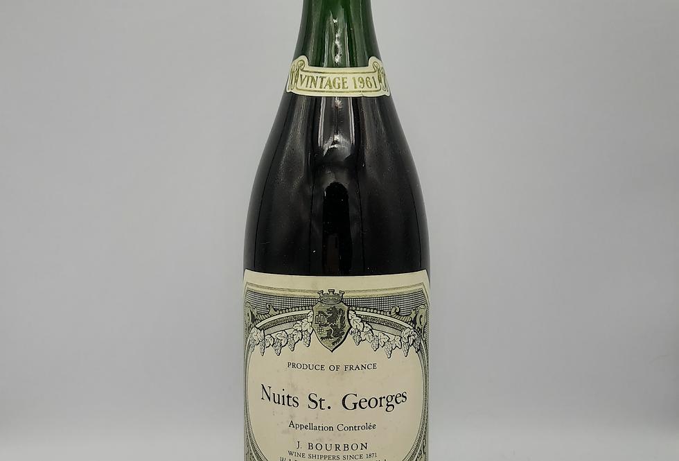 Nuits St. Georges Vintage 1961