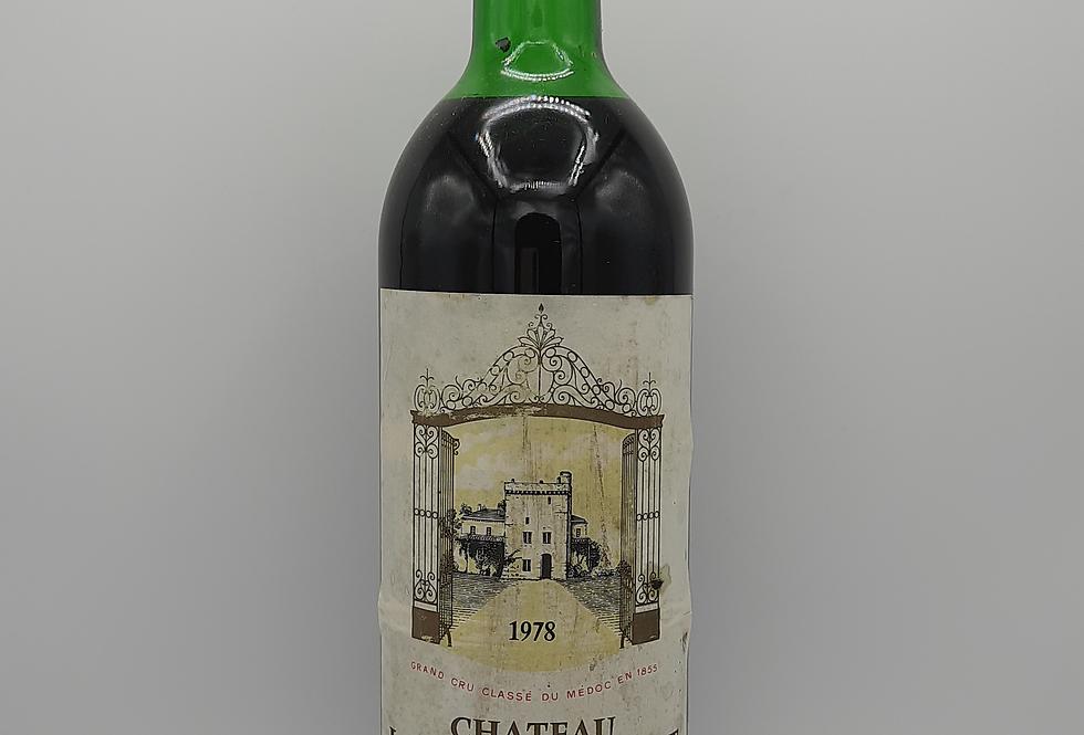1978 Château La Tour Carnet