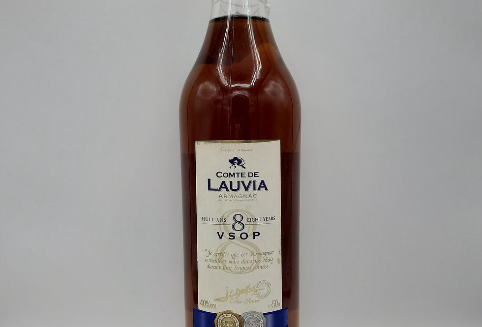 Comte de Lauvia VSOP 8 Year Old Armagnac 50cl