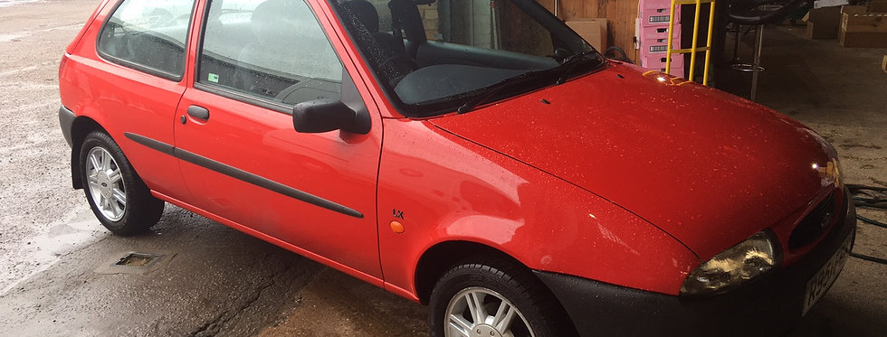 Ford Fiesta 19,000 Miles From New 1997