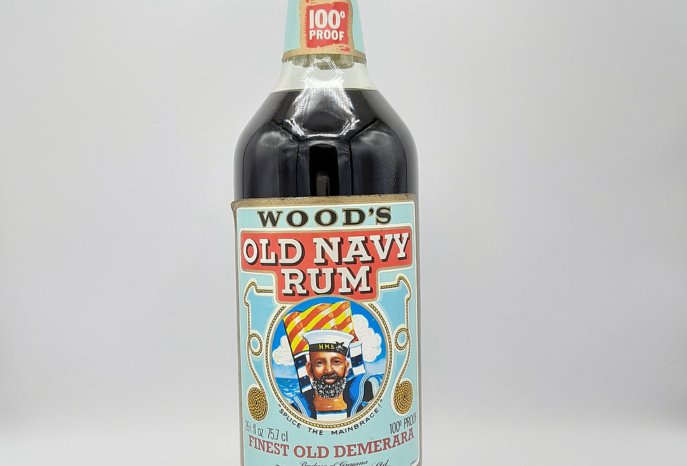 Wood's 100 Proof Rum 1970's