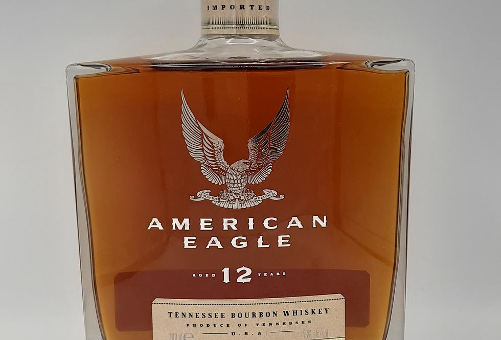 American Eagle 12y/o Bourbon Whiskey