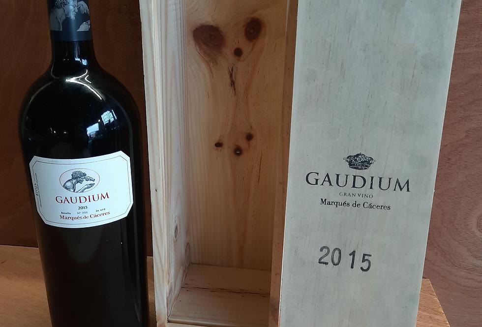 Gaudium 2015 Marques de Caceres 1.5L