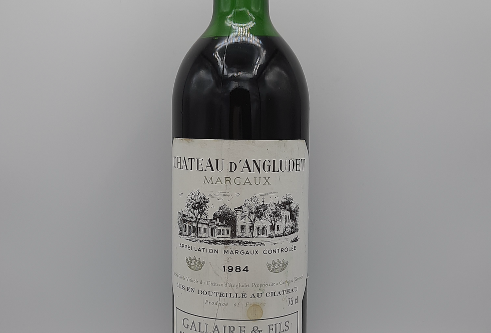 1984 Château d'Angludet