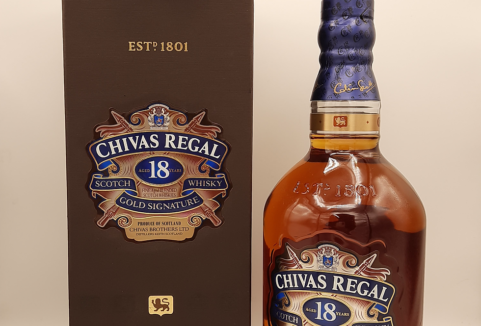 Chivas Regal 18yo Gold Signature Scotch
