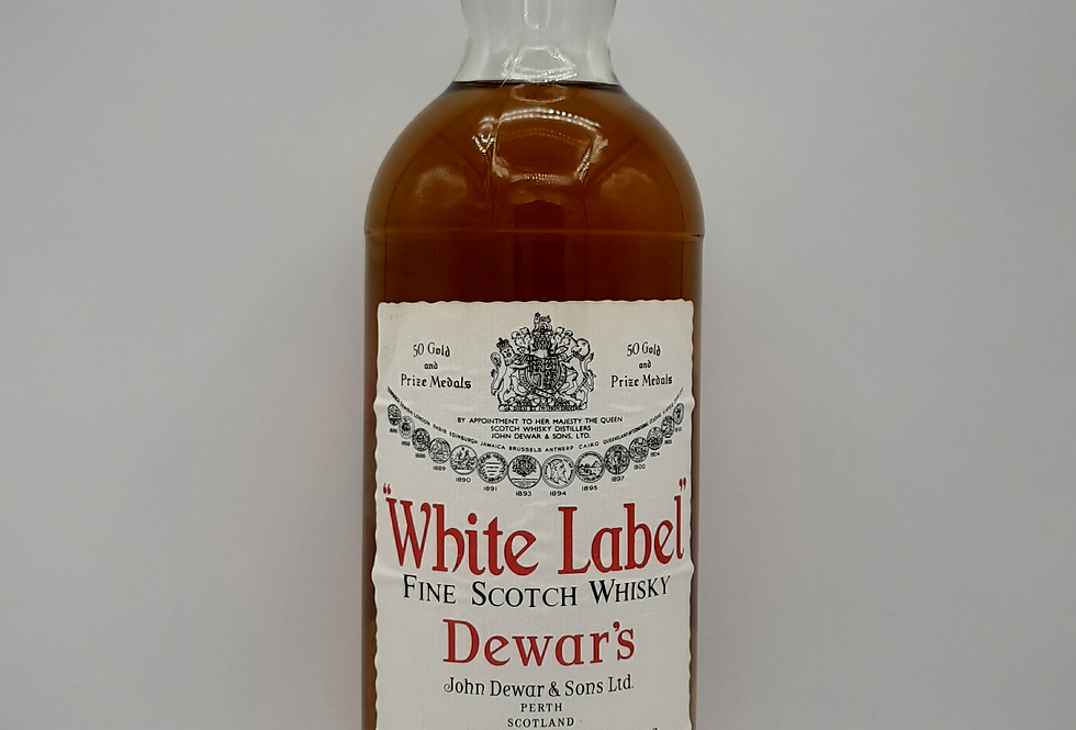 Dewars  1970 White Label Scotch 1 Litre