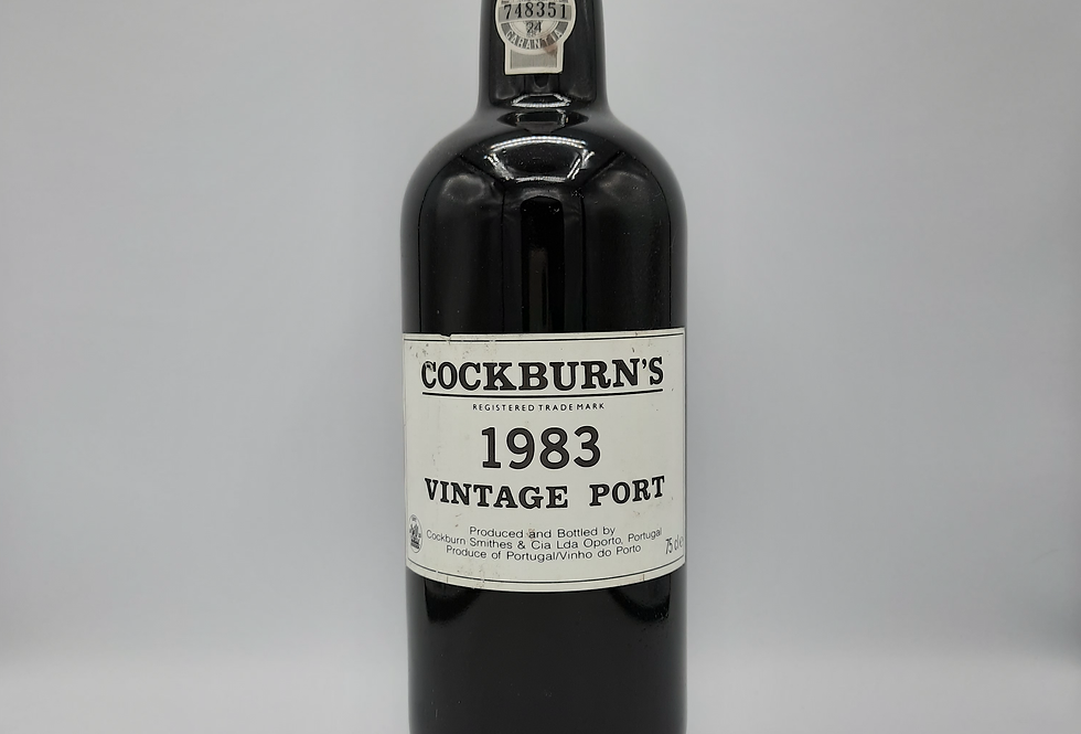 Cockburns 1983 Vintage Port