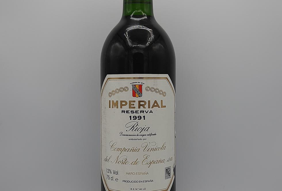 CVNE Imperial Reserve 1991 Rioja