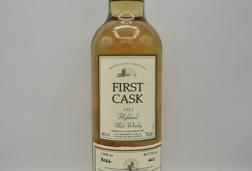 Teaninich 1983 First Cask 23yr old