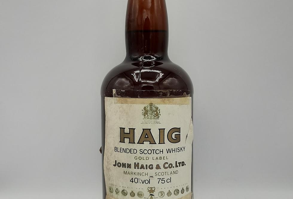 Haig 1980's Gold Label Blended Scotch