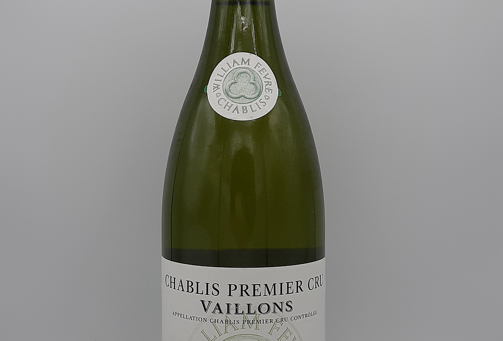 Vaillons William Fevre 2012 Chablis Prem Cru