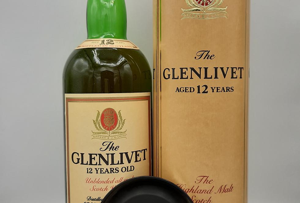 Glenlivet 80's/90's 12y/o Scotch 1 Litre