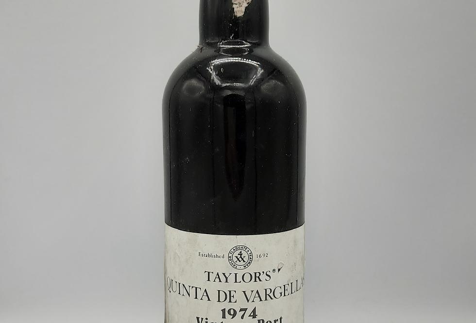Taylors' 1974 Quinta De Vargellas Vintage Port