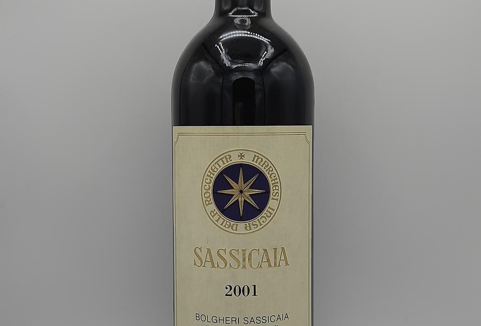 2001 Sassicaia Bolgheri, Tuscany Italy