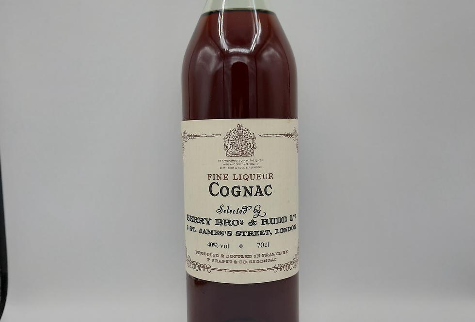 Fine Liqueur Cognac 1980's P Frapin & Co.