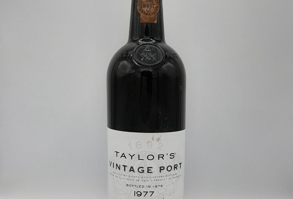 1977 Taylors Vintage Port