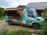 le camion vente de l'artiste JJ
