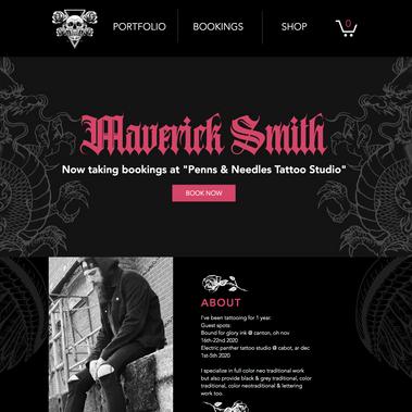 Maverick Smith Tattoos