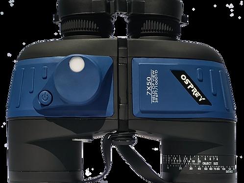 7 x50 Rangefinder/Compass Binoculars