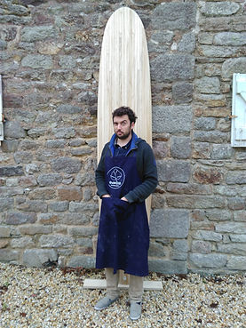 Gaël Le Thellec Shaper Bois Gawood Surfboard