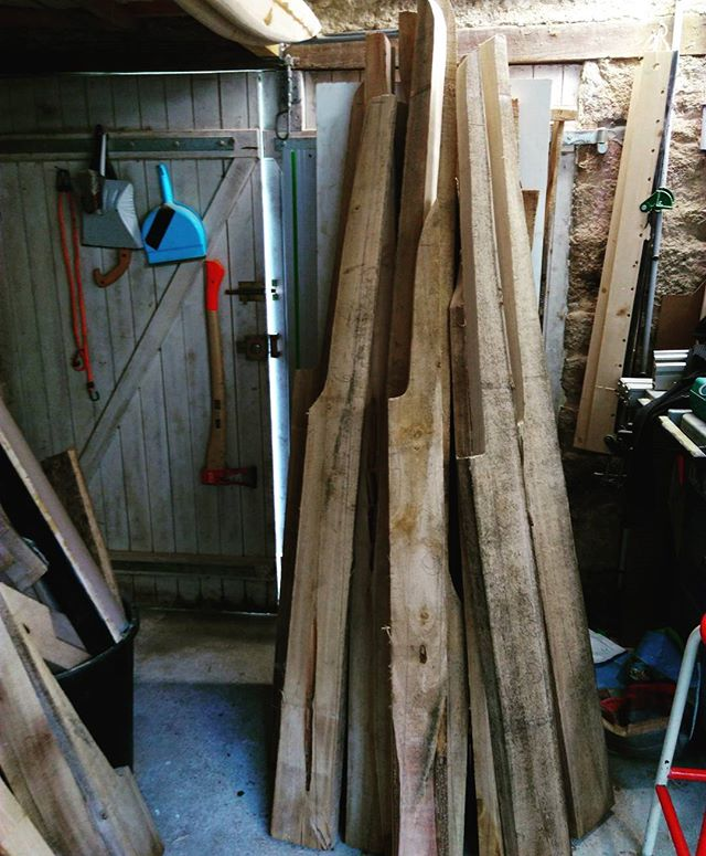 This is gonna be surfboards !😜🌿🏄_#gawoodsurfboards #paulownia #woodsurfboards #woodisgood #timber