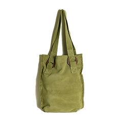 Minimal Leather bag designed by Elena Vandelli
